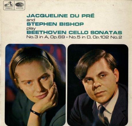 弾く事を心から楽しむ自然な演奏◉ジャクリーヌ・デュ=プレ、スティーヴン・ビショップ ベートーヴェン:チェロ・ソナタ No.3, 5, 2