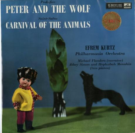 本場の指揮者でジックリと ― クルツ指揮フィルハーモニア管 プロコフィエフ《ピーターと狼》、サン=サーンス《動物の謝肉祭》