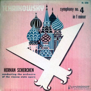 US WESTMINSTER WL-5096 Scherchen - Tchaikowsky Symphony No.4