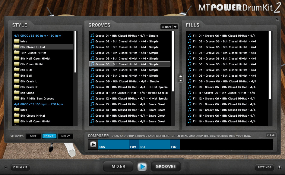 MT Power Drum Kit 2 Manda Audio