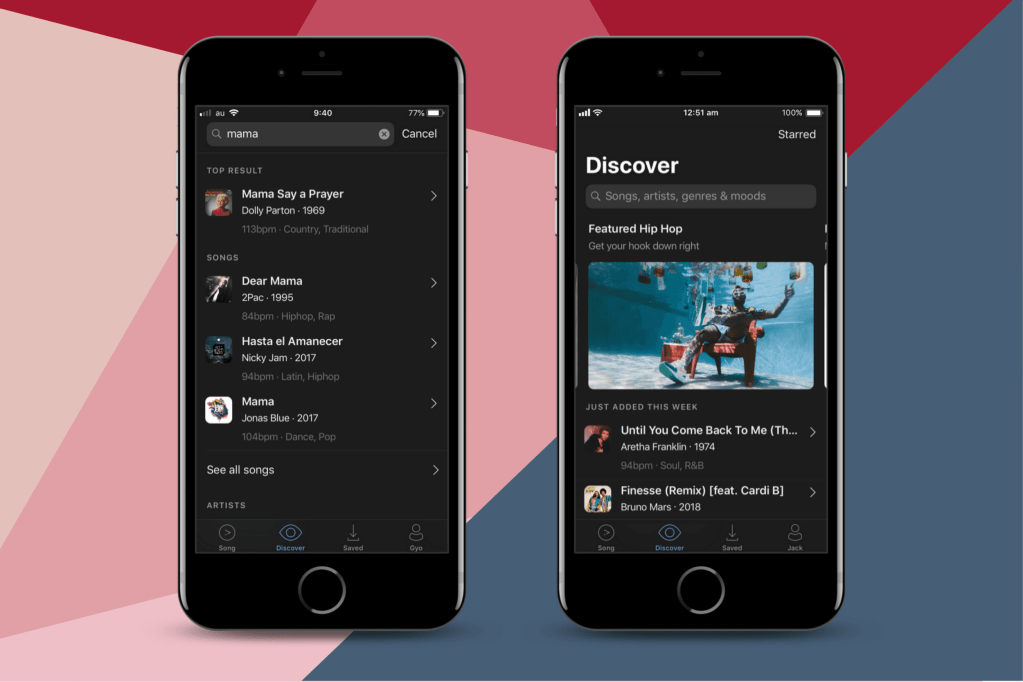 Dear Mama in Discover in Amadeus Code app
