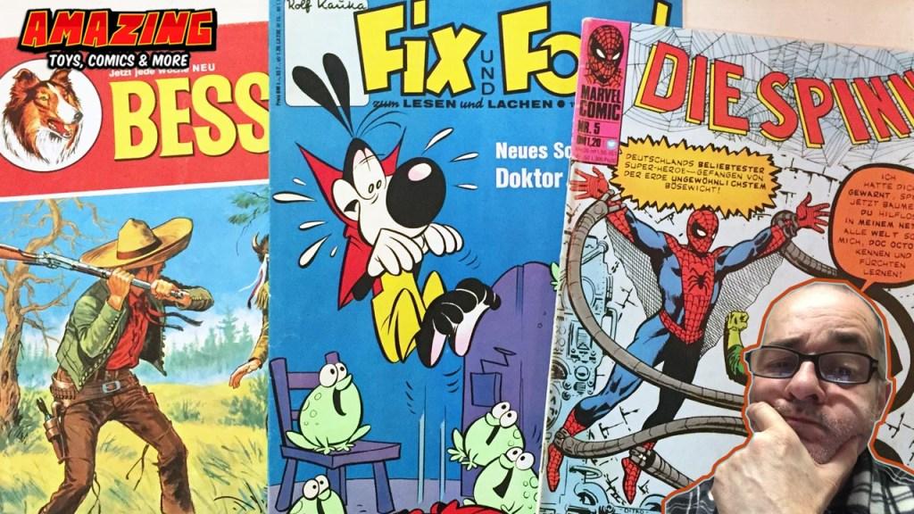 Die Evolution eines Comicsammlers