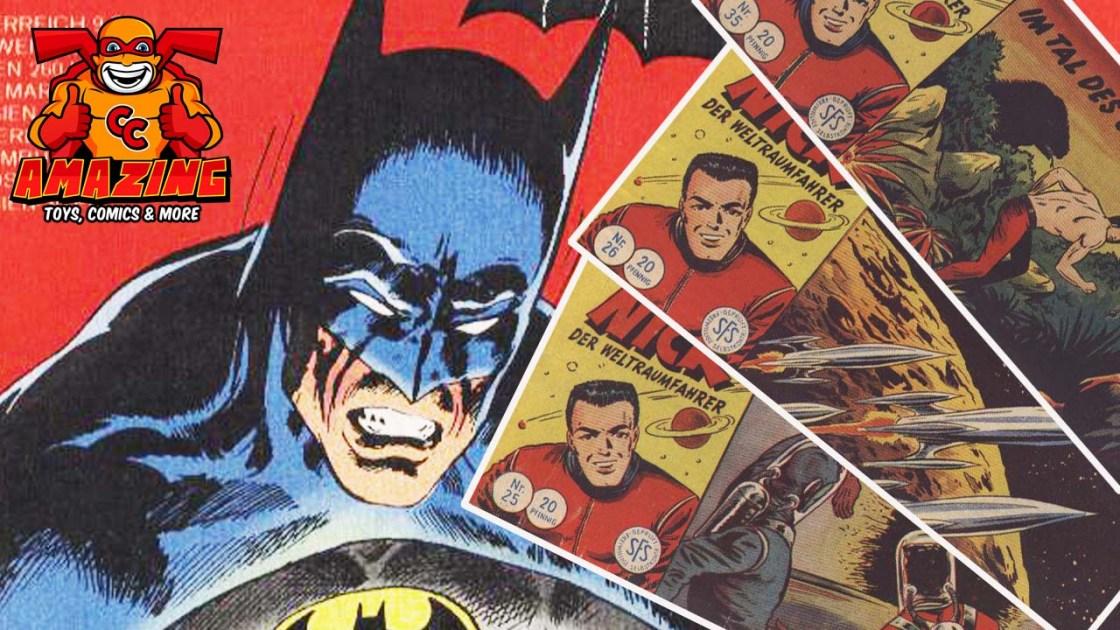 Vom Winde verwehte Comics und immergrüne Superhelden
