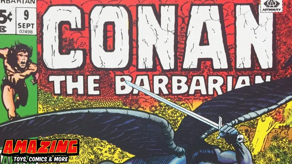 Croms 7 Conan Cover zum Sonntag