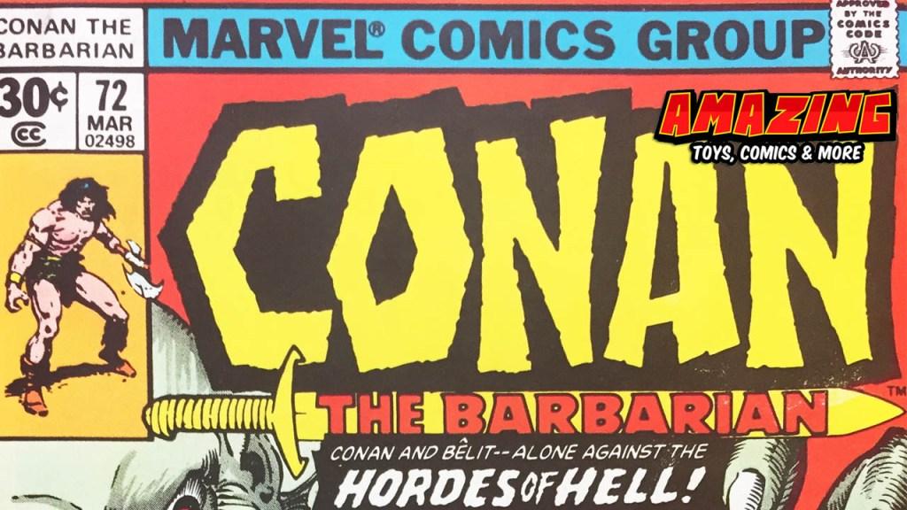 Croms 15 Conan Cover zum Sonntag