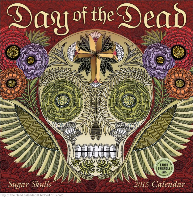 Day of the Dead 2015 wall calendar