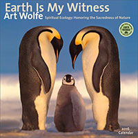 Earth Is My Witness 2016 wall calendar