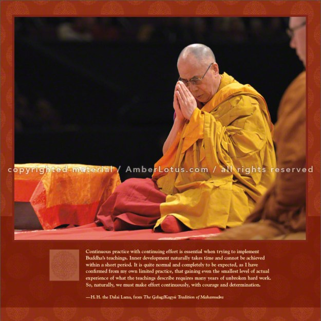 Dalai Lama 2016 wall calendar by Amber Lotus Publishing