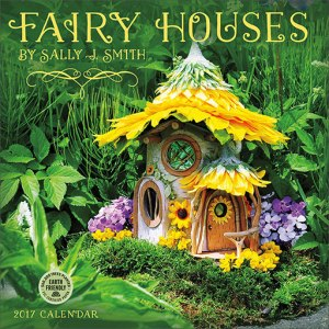 Fairy Houses wall calendar