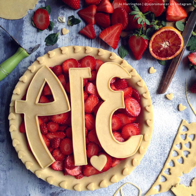 Pi Day Pie by Jo Harrington