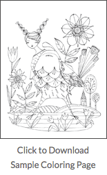 Free coloring sample page