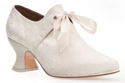 American Duchess Pompadour 18th Century Court Shoes