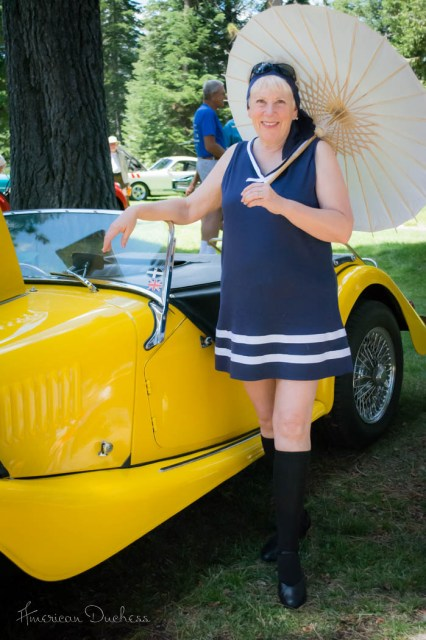 1920s bathing suit costume