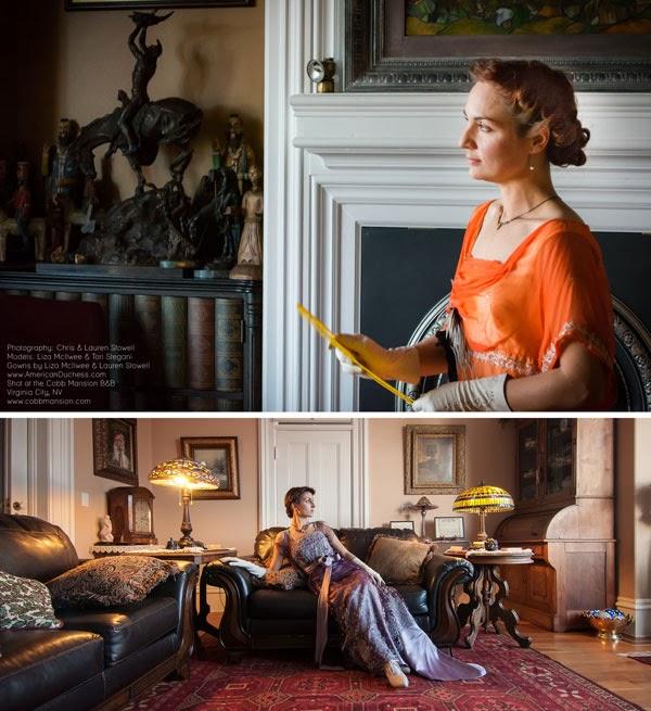 Downton Abbey Photo Shoot