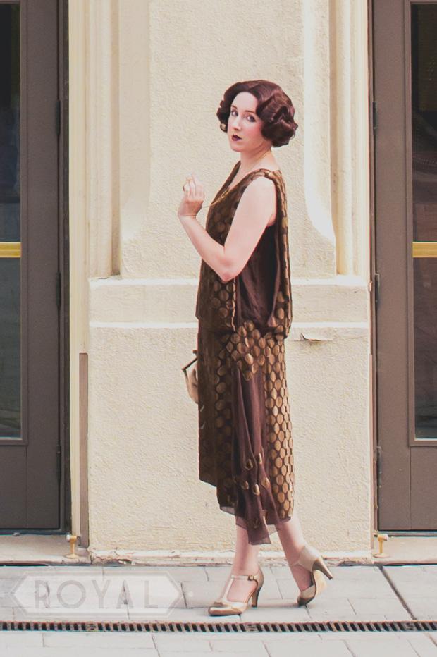 1920s Photo Shoot - RoyalVintageShoes.com