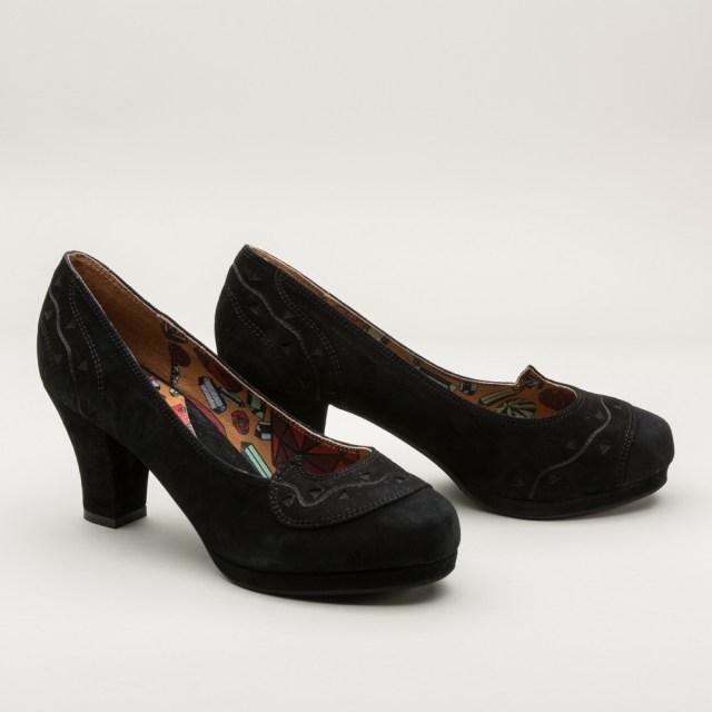 "Miss L Fire ""Lupita"" 1940s Platform Shoes - $155 - RoyalVintageShoes.com"