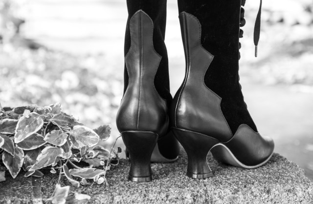 Camille Boots with French Heels by American Duchess