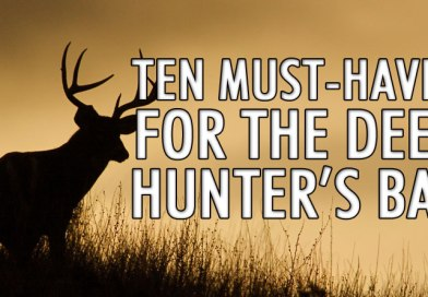 10 Must-haves for the Deer Hunter's Bar