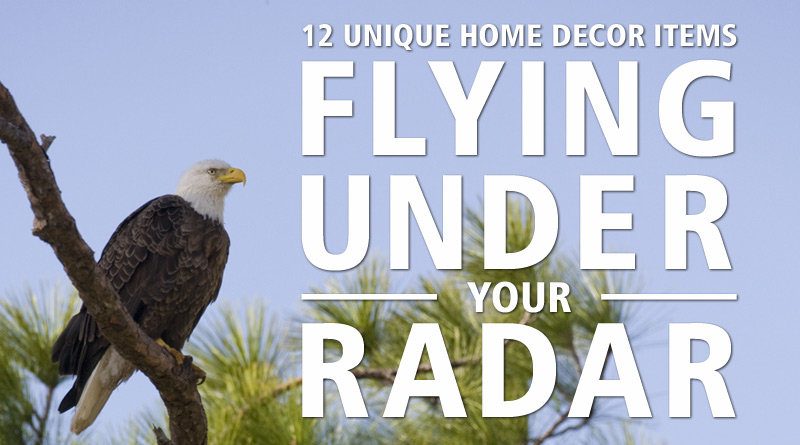 Unique Items Flying Under Your Radar