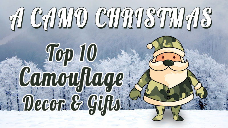 Camo Christmas top camo gifts