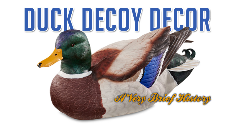 Decorative Duck Decoys