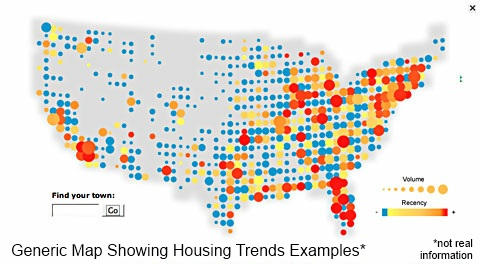 housing market trends fake map