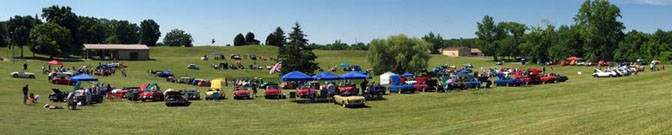 2016 British Car Field Day in Sussex, Wisconsin