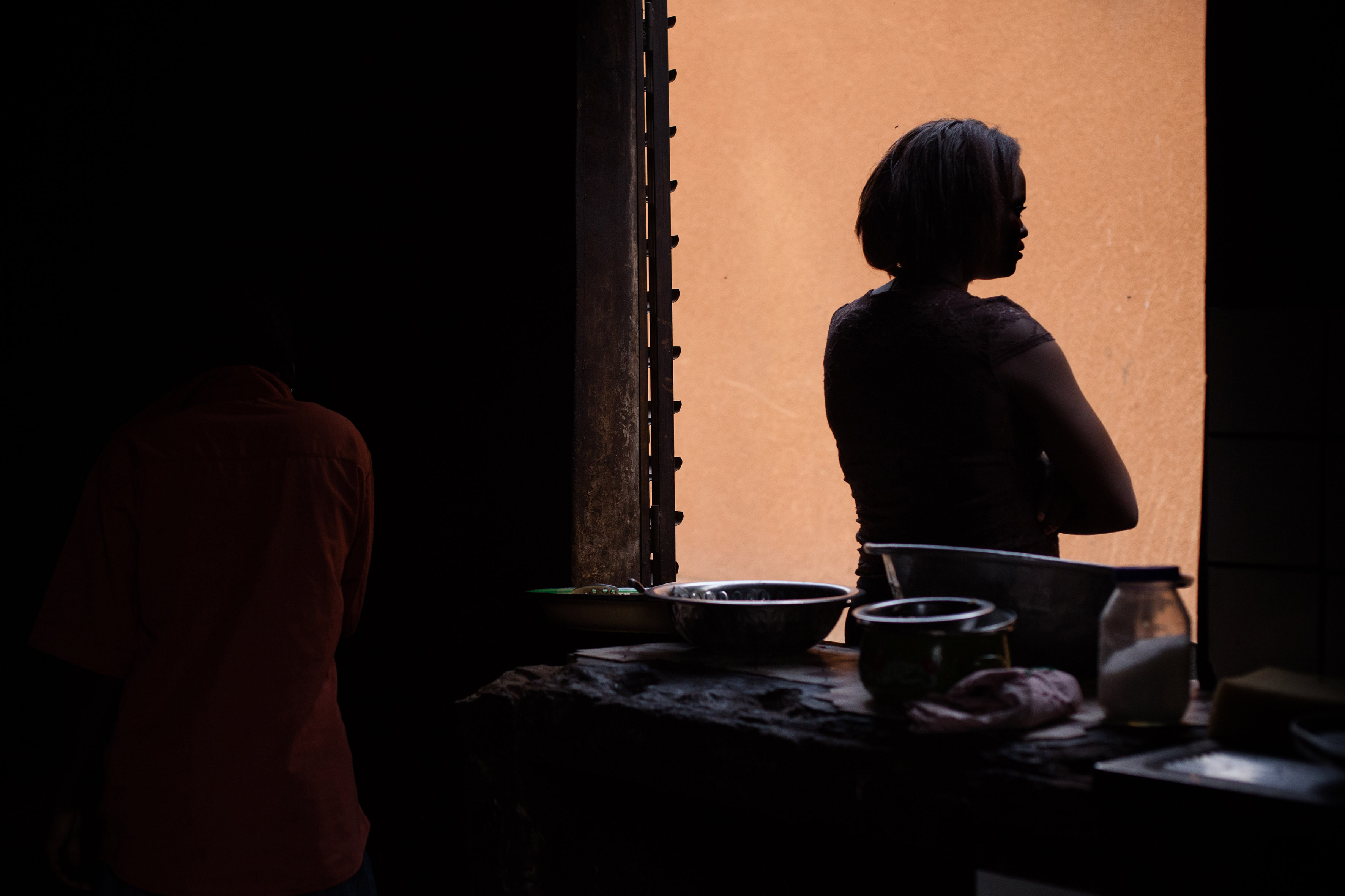 Foceb (Fondation Cardinale Emile Biyenda) provides refuge to survivors of rape, early and forced marriage and unwanted pregnancy in central Ouagadougou, capital of Burkina Faso.