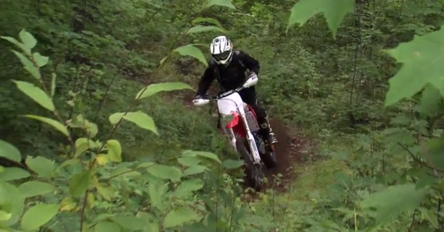 Dirt Bike at Nemadji State Forest