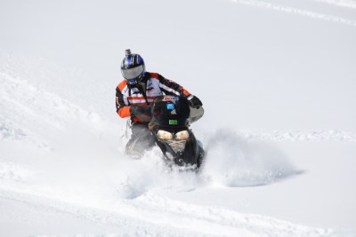 AMSOIL skidoo summit Snowmobile
