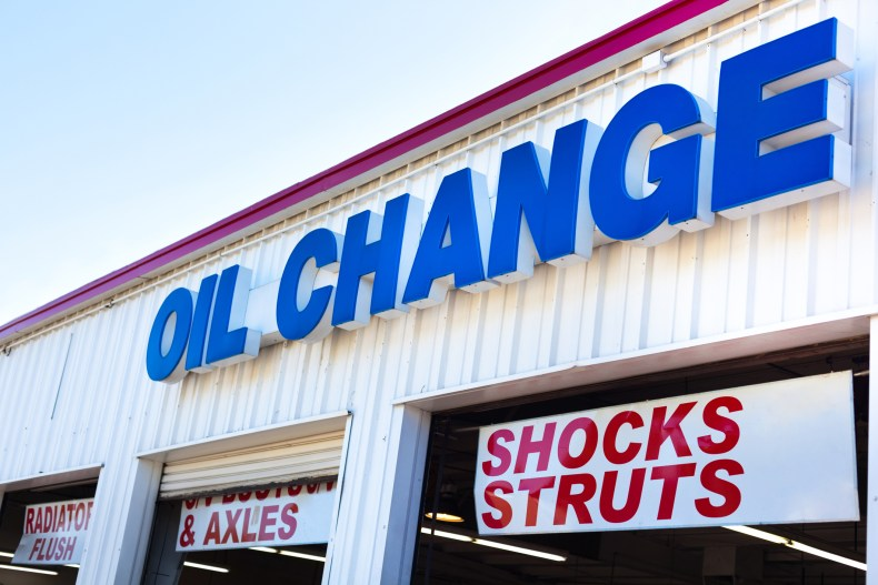 Change oil in your car