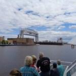 Duluth Lift Bridge and Ship