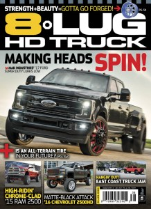 MAD superduty on cover of 8 lug