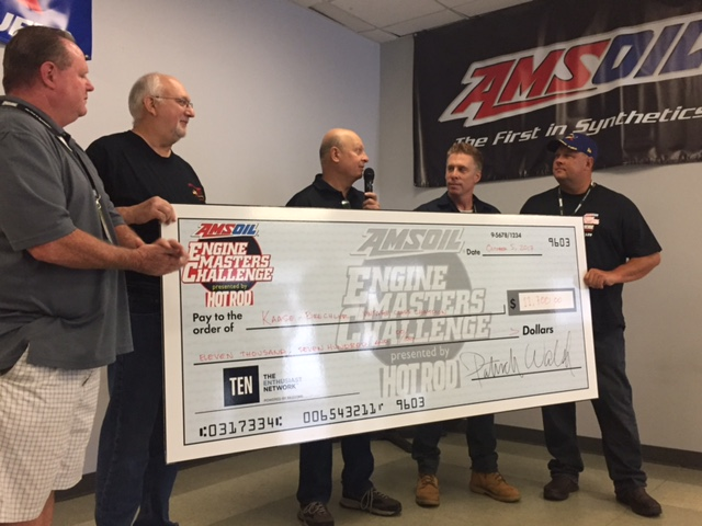 Jon Kaase wins amsoil engine masters challenge