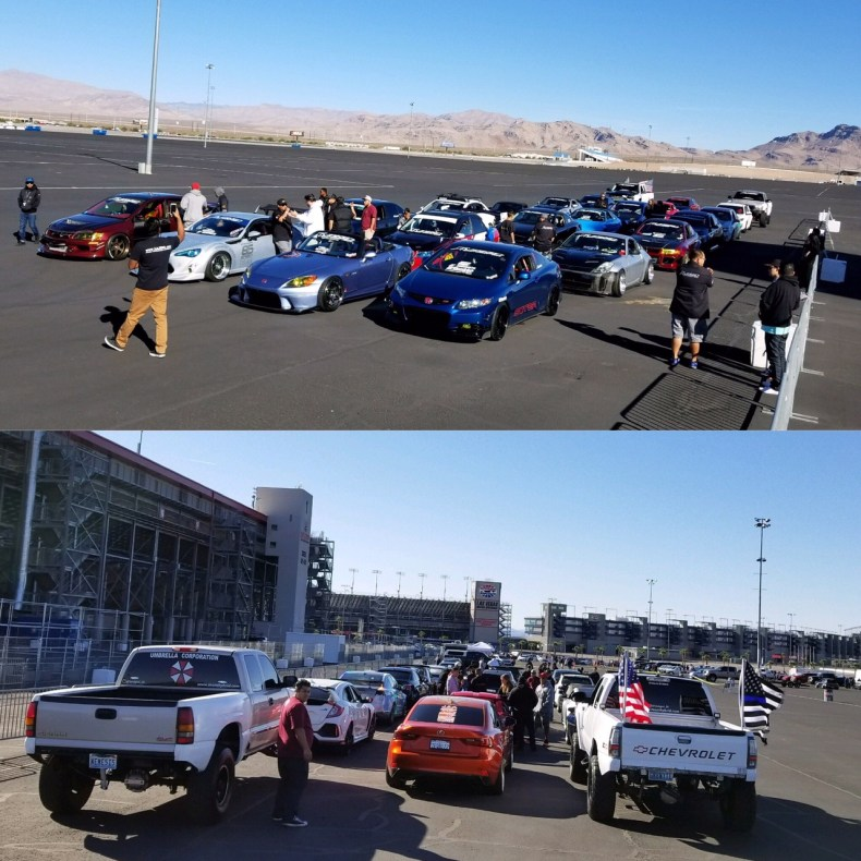 team hybrid at las vegas