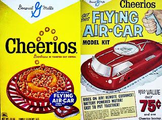 retro style cheerios box