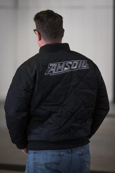Andy Black amsoil jacket back