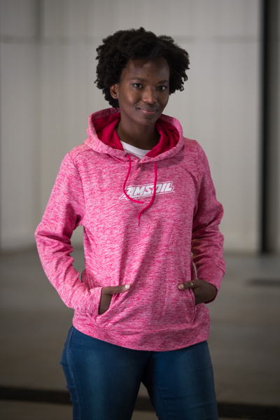 Pink amsoil Hoodie - Daisy