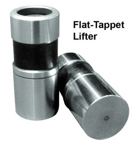 Flat-tappet lifters can wear prematurely without use of high-zinc oil.