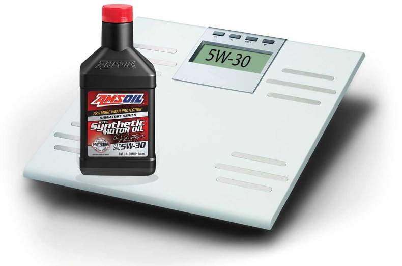 amsoil engine oil weight