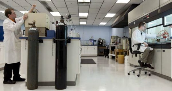Amsoil quality control oil testing