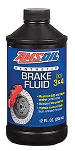 DOT 3 & DOT 4 Brake fluid