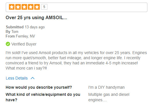 AMSOIL Diesel Review