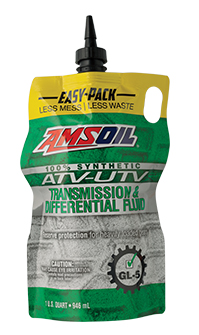 AMSOIL Synthetic ATV/UTV Transmission and Differential Fluid.