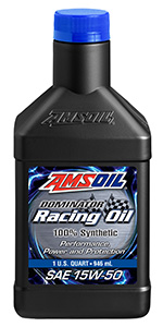 AMSOIL synthetic racing oil