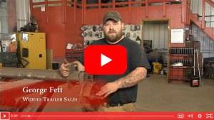 How to check trailer bearings.