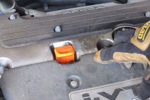 Motor oil dipstick