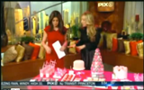 Behind the Scenes – WPIX Valentine's Day Segment