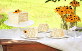 Black Eyed Susan Inspired Guest Dessert Table