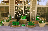 Woodland Guest Dessert Table Feature